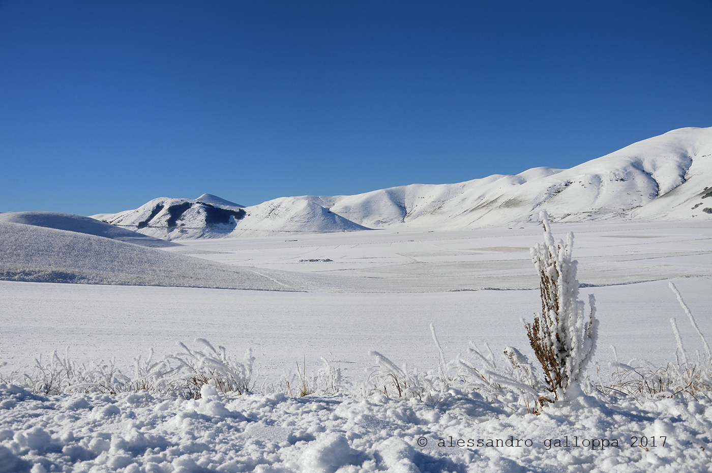 trekking invernale escursioni di gruppo sibillini